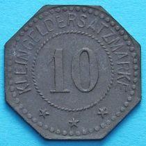 Германия 10 пфеннигов 1917-1920. Нотгельд Ротенбург.