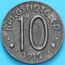 Германия 10 пфеннигов 1919 год. Нотгельд  Херсфельд.