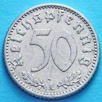 Германия 50 пфеннигов 1942 год. A.