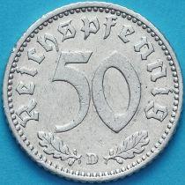 Германия 50 пфеннигов 1935 год. Монетный двор D.