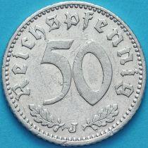 Германия 50 пфеннигов 1935 год. Монетный двор  J.