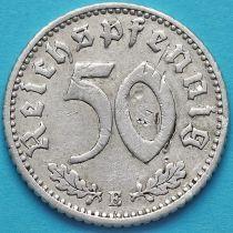 Германия 50 пфеннигов 1935 год. Монетный двор Е.