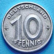 ГДР 10 пфеннигов 1948-1950 год.