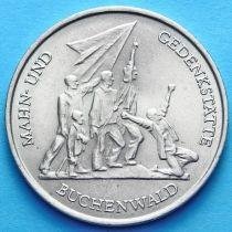 ГДР 10 марок 1972 год. Бухенвальд