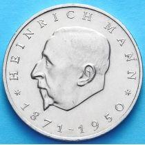 ГДР 20 марок 1971 г. Генрих Манн