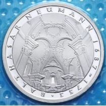 ФРГ 5 марок 1978 год. Иоганн Балтазар Нейман. Серебро. Пруф