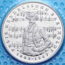 ФРГ 5 марок 1984 год. Феликс Мендельсон. Пруф.