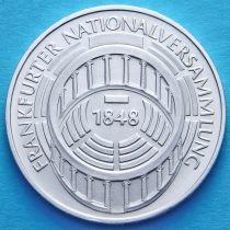 ФРГ 5 марок 1973 год. Национальное собрание. Серебро.