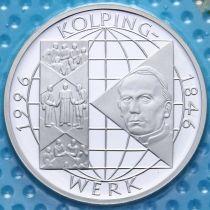 ФРГ 10 марок 1996 год. Ассоциация ремесленников. А. Серебро. Пруф