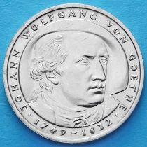 ФРГ 5 марок 1982 год. Иоганн Вольфганг фон Гёте.
