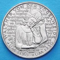ФРГ 5 марок 1980 год. Вальтер фон дер Фогельвейде.