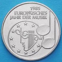 ФРГ 5 марок 1985 год. Европейский год музыки.