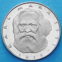 ФРГ 5 марок 1983 год. Карл Маркс.