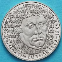 ФРГ 5 марок 1983 год. Мартин Лютер.