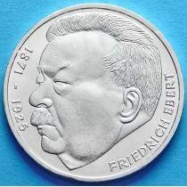 ФРГ 5 марок 1975 год. Фридрих Эберт. Серебро