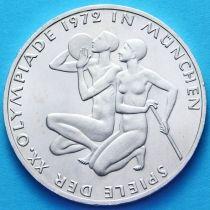 ФРГ 10 марок 1972 год. Олимпиада в Мюнхене. J. Серебро
