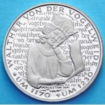 ФРГ 5 марок 1980 год. Вальтер фон дер Фогельвейде. Пруф