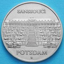 ГДР 5 марок 1986 год. Дворец Сан-Суси в Потсдаме.