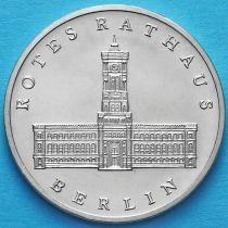 ГДР 5 марок 1987 год.  Красная Ратуша.