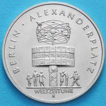 ГДР 5 марок 1987 год. Александрплац.