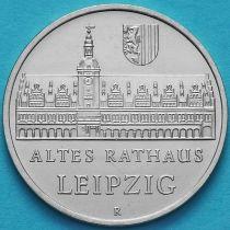 ГДР 5 марок 1984 год. Старая Ратуша в Лейпциге