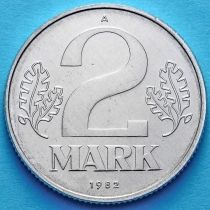 ГДР 2 марки 1982 год. А