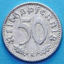 Германия 50 пфеннигов 1941 год. Монетный двор A.