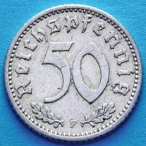 Германия 50 пфеннигов 1935 год. Монетный двор F.
