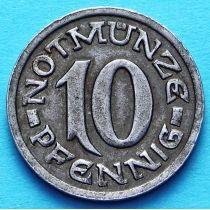 Германия 10 пфеннигов 1920 год. Нотгельд Вестфалия