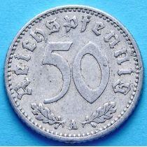 Германия 50 пфеннигов 1935 год. Монетный двор A.