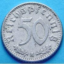 Германия 50 пфеннигов 1940 год. Монетный двор A.