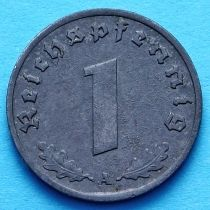 Германия 1 рейхспфенниг 1941-1943 год. А