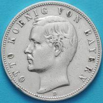 Бавария, Германия 5 марок 1898 год. Серебро D.