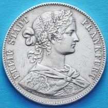 Франкфурт, Германия 1 талер 1860 год. Серебро.