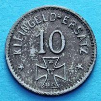Германия 10 пфеннигов 1918 год. Нотгельд Вальдзее.