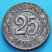 Германия 25 пфеннигов 1920 год. Нотгельд Бонн.