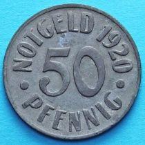 Германия 50 пфеннигов 1920 год. Нотгельд Кассель.