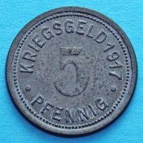 Германия 5 пфеннигов 1917 год. Нотгельд Штеркраде.