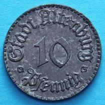 Германия 10 пфеннигов 1920 год. Нотгельд Альтенбург.