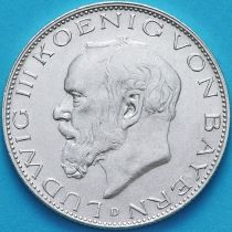 Бавария, Германия 2 марки 1914 год.Людвиг III. Серебро D.
