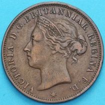 Джерси 1/12 шиллинга 1888 год.