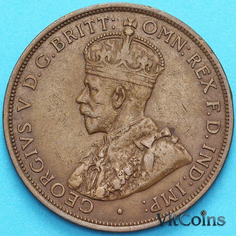 Монета Джерси 1/12 шиллинга 1913 год.