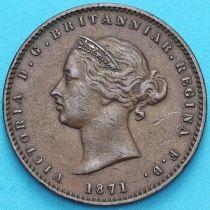 Джерси 1/26 шиллинга 1871 год.