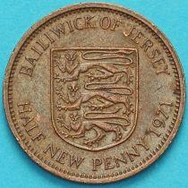 Джерси 1/2 нового пенни 1971 год.