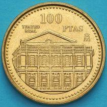 Испания 100 песет 1997 год. Королевский театр