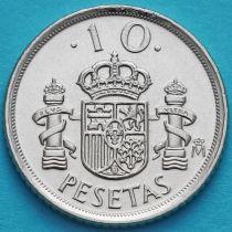 Испания 10 песет 1998 год.