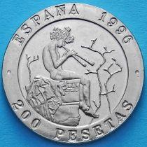Испания 200 песет 1996 год. Музыканты.