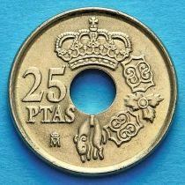 Испания 25 песет 2000 год.