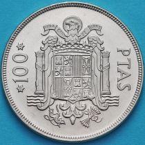 Испания 100 песет 1975 год.