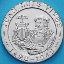 Испания 200 песет 1993 год. Хуан Луис Вивес.